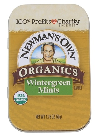 Newman's Own Organics - Mints Tin Wintergreen - 1.76 oz.