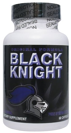 DROPPED: DietLab USA - Black Knight Original Formula All Natural Pure Ephedra Extract - 60 Capsules UNPUBLISHED