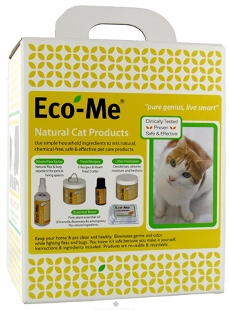 DROPPED: Eco-Me - Natural Cat Products Starter Kit - 1.8 lbs. CLEARANCE PRICED