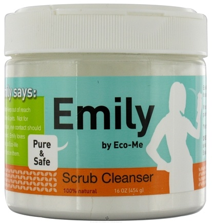 DROPPED: Eco-Me - Scrub Cleanser Emily - 16 oz. CLEARANCE PRICED