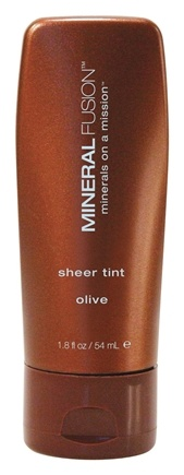 DROPPED: Mineral Fusion - Base Sheer Tint Foundation Olive - 1.8 oz. CLEARANCE PRICED