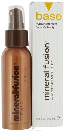 DROPPED: Mineral Fusion - Base Hydration Mist Face & Body - 2 oz. CLEARANCE PRICED