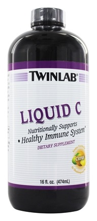 Twinlab - Liquid C Citrus Flavor - 16 oz. LUCKY PRICE