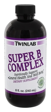 DROPPED: Twinlab - Super B Complex Herbal Formula - 8 oz. CLEARANCE PRICED