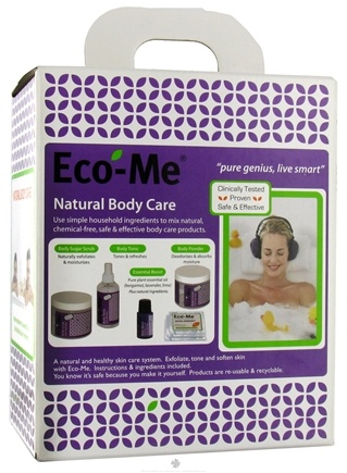 DROPPED: Eco-Me - Natural Body Care Starter Kit - 2.2 lbs. CLEARANCE PRICED