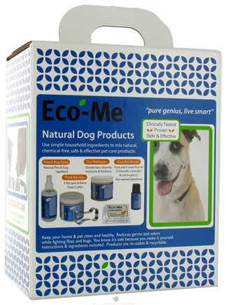 DROPPED: Eco-Me - Natural Dog Products Starter Kit - 1.7 oz. CLEARANCE PRICED