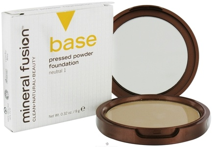 DROPPED: Mineral Fusion - Base Pressed Powder Foundation Neutral 1 - 0.32 oz. CLEARANCE PRICED