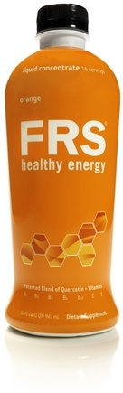 DROPPED: FRS Healthy Energy - Liquid Concentrate Orange - 32 oz.