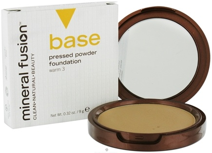 DROPPED: Mineral Fusion - Base Pressed Powder Foundation Warm 3 - 0.32 oz. CLEARANCE PRICED