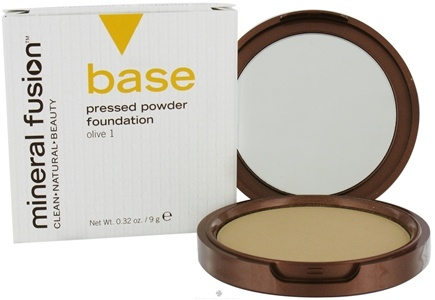 DROPPED: Mineral Fusion - Base Pressed Powder Foundation Olive 1 - 0.32 oz. CLEARANCE PRICED