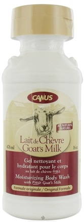 DROPPED: Canus - Goat's Milk Moisturizing Body Wash Original Formula - 16 oz. CLEARANCE PRICED