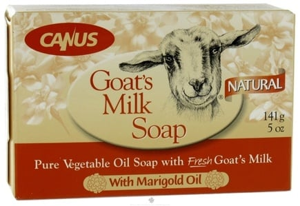 DROPPED: Canus - Goat's Milk Bar Soap with Marigold Oil - 5 oz.