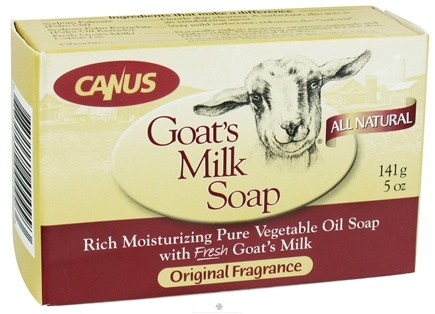 DROPPED: Canus - Goat's Milk Soap Original Fragrance - 5 oz.