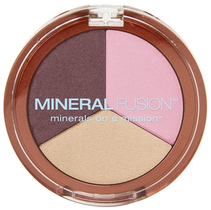DROPPED: Mineral Fusion - Eyes Eye Shadow Trio Diversity - 0.1 oz. CLEARANCE PRICED