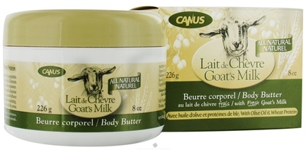DROPPED: Canus - Goat's Milk Body Butter with Olive Oil & Wheat Protein - 8 oz.
