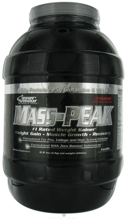 DROPPED: Inner Armour - Mass Peak Weight Gainer Vanilla - 8.8 lbs. CLEARANCE PRICED