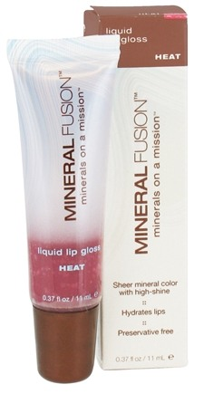 DROPPED: Mineral Fusion - Liquid Lip Gloss Heat - 0.37 oz. CLEARANCED PRICED