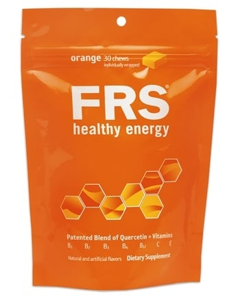 DROPPED: FRS Healthy Energy - Chews Orange - 30 Chews