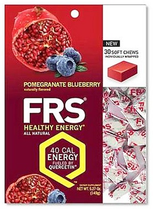 DROPPED: FRS Healthy Energy - Chews Pomegranate Blueberry - 30 Chews CLEARANCE PRICED
