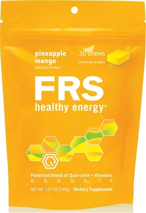 DROPPED: FRS Healthy Energy - Chews Pineapple Mango - 30 Chews CLEARANCE PRICED