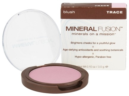 DROPPED: Mineral Fusion - Blush Trace - 0.1 oz. CLEARANCE PRICED