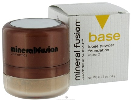 DROPPED: Mineral Fusion - Base Loose Powder Foundaton Neutral 2 - 0.14 oz. CLEARANCE PRICED