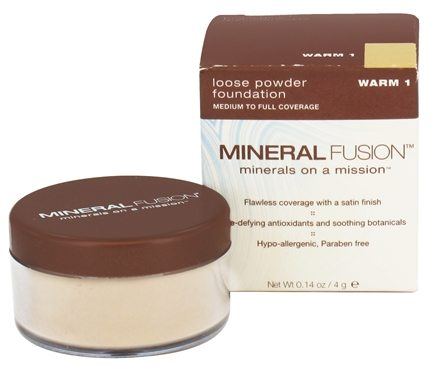 DROPPED: Mineral Fusion - Loose Powder Foundation Warm 1 - 0.14 oz. CLEARANCED PRICED