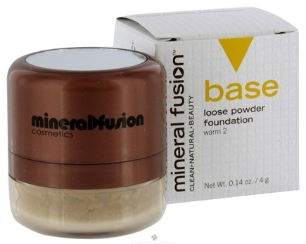 DROPPED: Mineral Fusion - Base Loose Powder Foundation Warm 2 - 0.14 oz. CLEARANCE PRICED