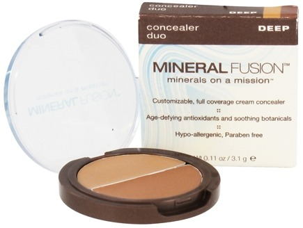 DROPPED: Mineral Fusion - Concealer Duo Deep - 0.11 oz. CLEARANCED PRICED