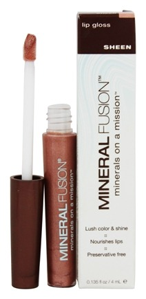 DROPPED: Mineral Fusion - Lip Gloss Sheen - 0.135 oz.
