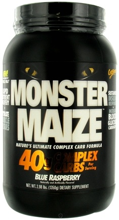DROPPED: Cytosport - Monster Maize Ultimate Complex Carb Formula Blue Raspberry - 2.98 lbs. CLEARANCE PRICED