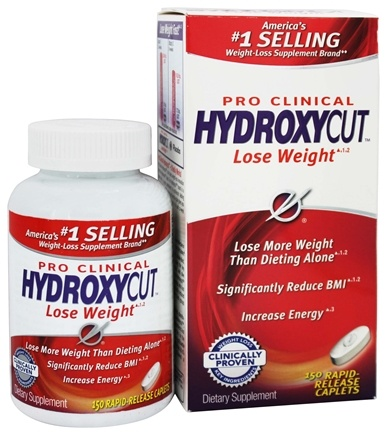 Muscletech Products - HydroxyCut Pro Clinical - 150 Caplets Formerly Thermogenic