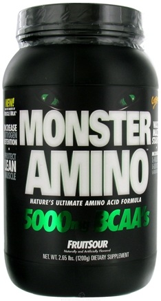 DROPPED: Cytosport - Monster Amino Ultimate Amino Acid Formula FruitSour - 2.65 lbs. CLEARANCE PRICED