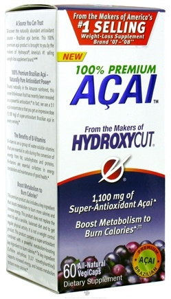 DROPPED: Muscletech Products - HydroxyCut Premium Acai - 60 Vegetarian Capsules CLEARANCE PRICED