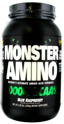 DROPPED: Cytosport - Monster Amino Ultimate Amino Acid Formula Blue Raspberry - 2.65 lbs.