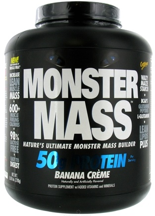 DROPPED: Cytosport - Monster Mass Ultimate Mass Builder Banana Creme - 5.95 lbs. CLEARANCE PRICED