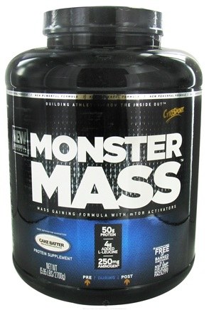DROPPED: Cytosport - Monster Mass Nature's Ultimate Mass Builder Cake Batter - 5.95 lbs.