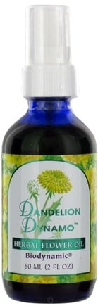 DROPPED: Flower Essence Services - Herbal Flower Oil Dandelion Dynamo - 2 oz. CLEARANCE PRICED