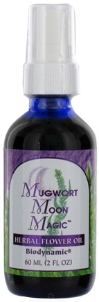 DROPPED: Flower Essence Services - Herbal Flower Oil Mugwort Moon Magic - 2 oz. CLEARANCE PRICED