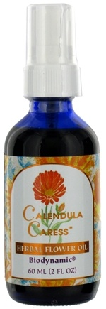 DROPPED: Flower Essence Services - Herbal Flower Oil Calendula Caress - 2 oz. CLEARANCE PRICED