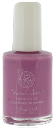 DROPPED: Honeybee Gardens - Watercolors Water Based Nail Enamel Hippie Chick - 0.5 oz. CLEARANCE PRICED