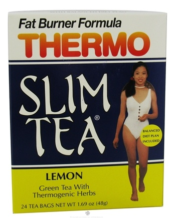 DROPPED: Hobe Labs - Thermo Slim Tea Fat Burner Formula Lemon - 24 Tea Bags CLEARANCE PRICED