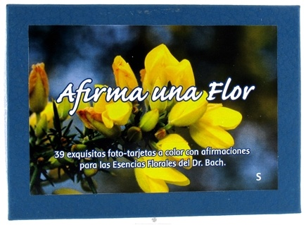 DROPPED: Flower Essence Services - Range of Light Afirma Una Flor Affirmation Card Set Spanish - 39 Cards - 1 Box(s) CLEARANCE PRICED