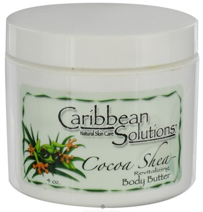 DROPPED: Caribbean Solutions - Cocoa Shea Revitalizing Body Butter - 4 oz.