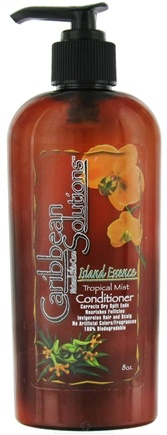 DROPPED: Caribbean Solutions - Conditioner Island Essence Tropical Mist - 8 oz. CLEARANCE PRICED