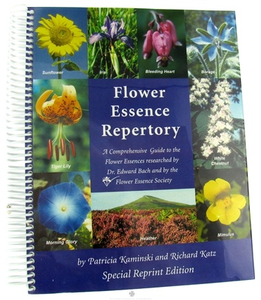 DROPPED: Flower Essence Services - Repertory - 1 Book CLEARANCED PRICED
