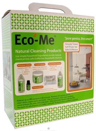 DROPPED: Eco-Me - Natural Cleaning Products Starter Kit - 3.5 oz. CLEARANCE PRICED