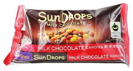 SunSpire - Sun Drops Original Chocolate Candies - 10 oz.
