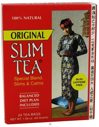 DROPPED: Hobe Labs - Slim Tea Original 100% Natural - 24 Tea Bags CLEARANCE PRICED