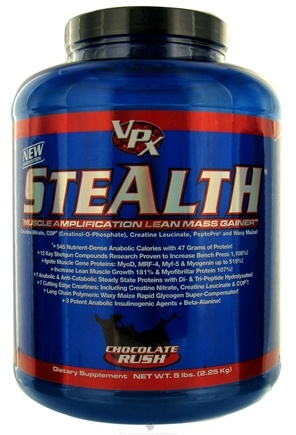 DROPPED: VPX - Stealth Lean Mass Gainer Chocolate Rush - 5 lbs. CLEARANCE PRICED
